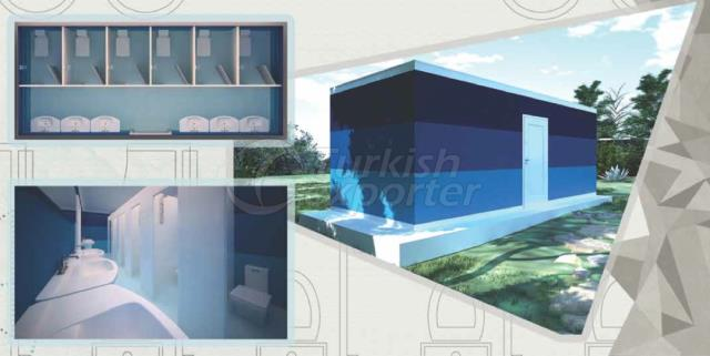 21m2 Bathroom Composite Container